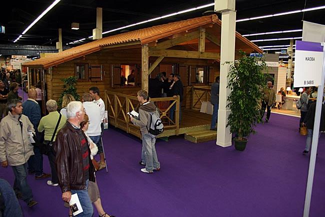 Exposition constructeurs chalet bois for Salon construction bois