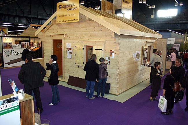 Construction bois maison - Salon maison bois angers ...