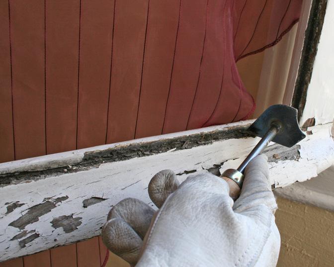Changer une vitre ou remplacer un carreau cassé sur une  ~ Mastic Pour Fenetre Bois